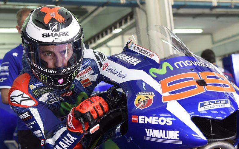 Rückkehrer Jorge Lorenzo steigt am Dienstag auf die Yamaha M1