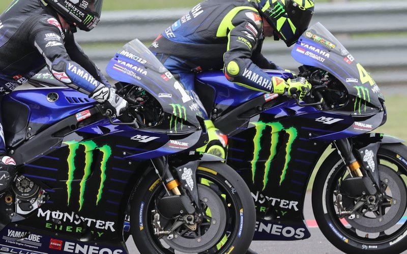 Maverick Vinales und Valentino Rossi starten in Termas von P2 und P4