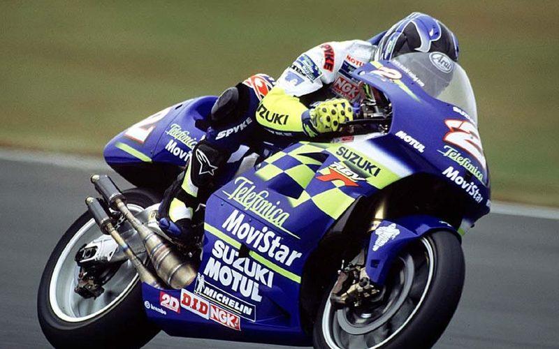 Im Jahr 2000 wurde zum letzten Mal ein Suzuki-Fahrer Weltmeister