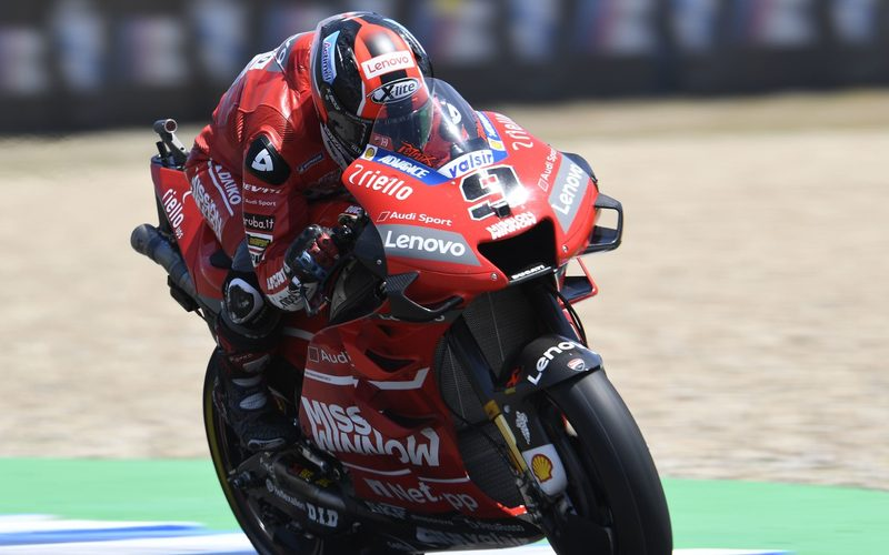 Danilo Petrucci fuhr die einzige 1:36er-Zeit in einem insgesamt engen MotoGP-Feld