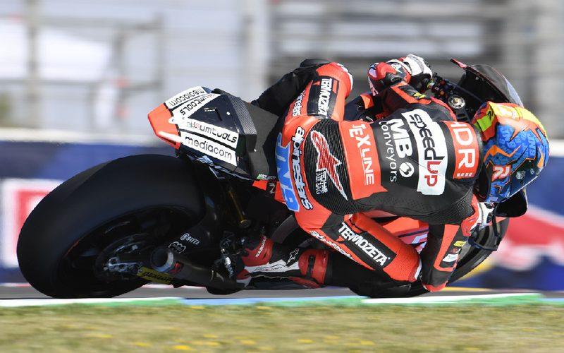 Jorge Navarro fuhr im Q2 zu seiner ersten Pole-Position in der Moto2