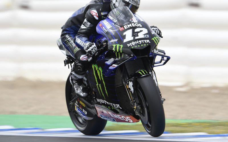 Maverick Vinales unterstreicht seine Ambitionen in Le Mans mit einer Bestzeit