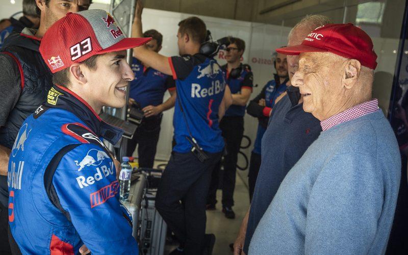 Niki Lauda gab Marc Marquez bei dessen Formel-1-Test Ratschläge