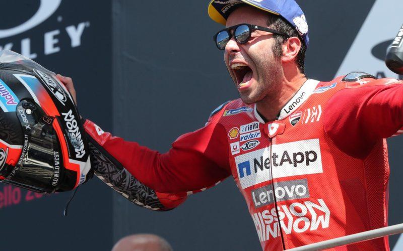 Danilo Petrucci jubelte beim Heimrennen in Mugello über seinen ersten MotoGP-Sieg