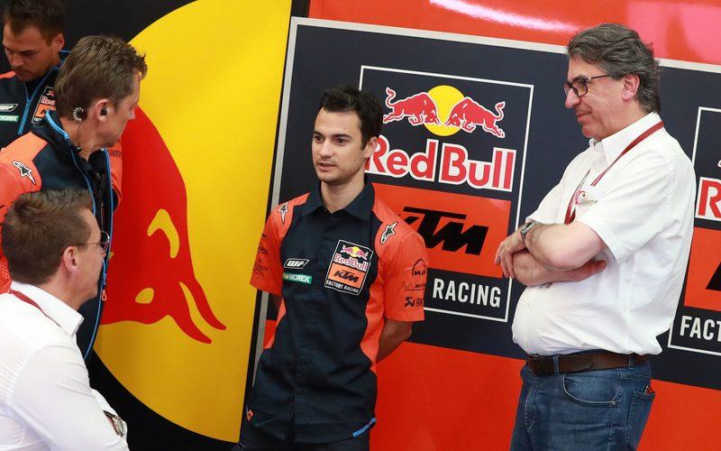 KTM-Tester Dani Pedrosa ist wieder fit genug, um auf die RC16 zu steigen