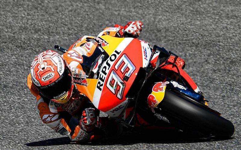 Marc Marquez kann das Motorrad an seine Grenzen bringen wie kaum ein anderer