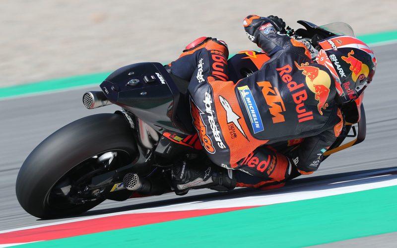Johann Zarco fand mit neuen Teilen ein gutes Gefühl für die KTM RC16