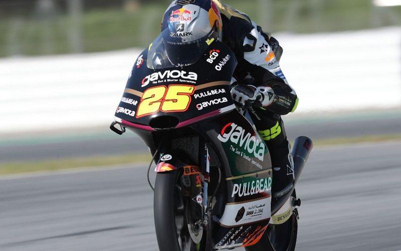 Der Spanier Raul Fernandez fuhr am Freitagvormittag die schnellste Runde