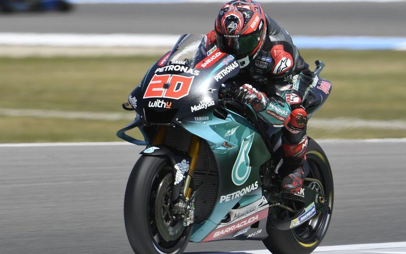 Fabio Quartararo fuhr zum Schluss noch die schnellste Runde