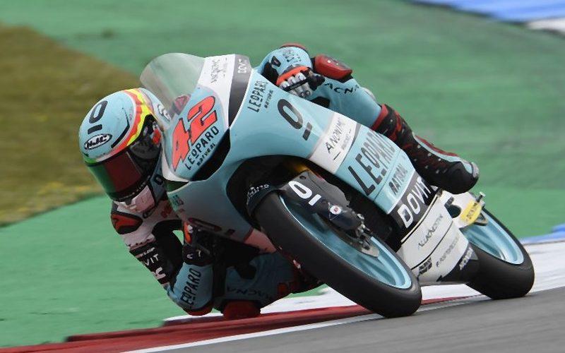 Marcos Ramirez fuhr die schnellste Moto3-Runde auf dem Sachsenring