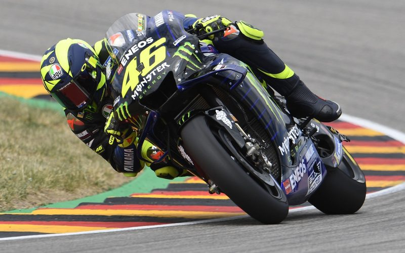 Valentino Rossi muss beim Deutschland-GP am Sonntag viel Aufholarbeit leisten