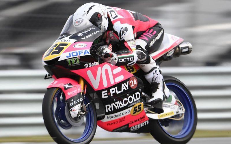 Romano Fenati holte sich die erste Pole seit seiner Rückkehr in die Moto3