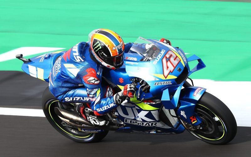 Suzuki-Pilot Alex Rins holte sich im Fotofinish seinen zweiten MotoGP-Sieg