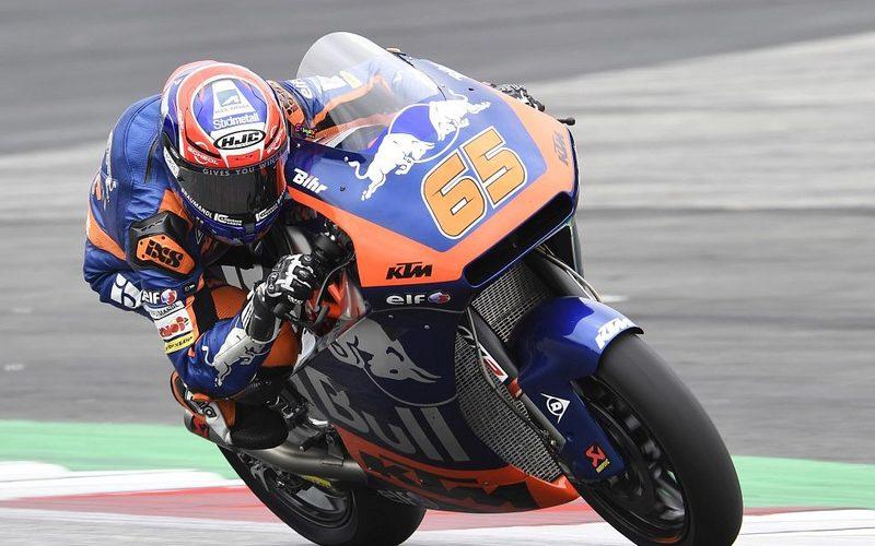 Philipp Öttl tut sich mit der Moto2-KTM weiterhin sichtlich schwer