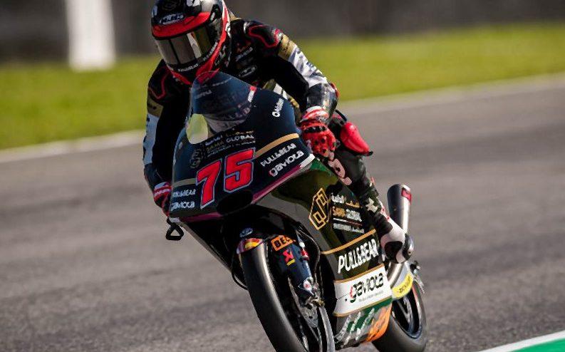 Albert Arenas war am Freitag der schnellste Mann in der Moto3