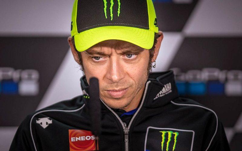 Valentino Rossi war in Misano nur drittbester Yamaha-Pilot