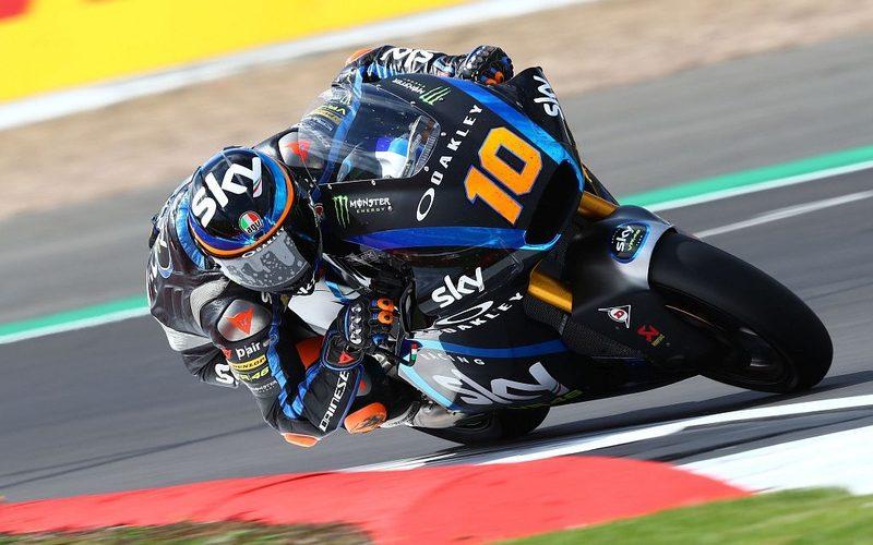 Luca Marini sicherte sich am Nachmittag die Moto2-Bestzeit in Aragon