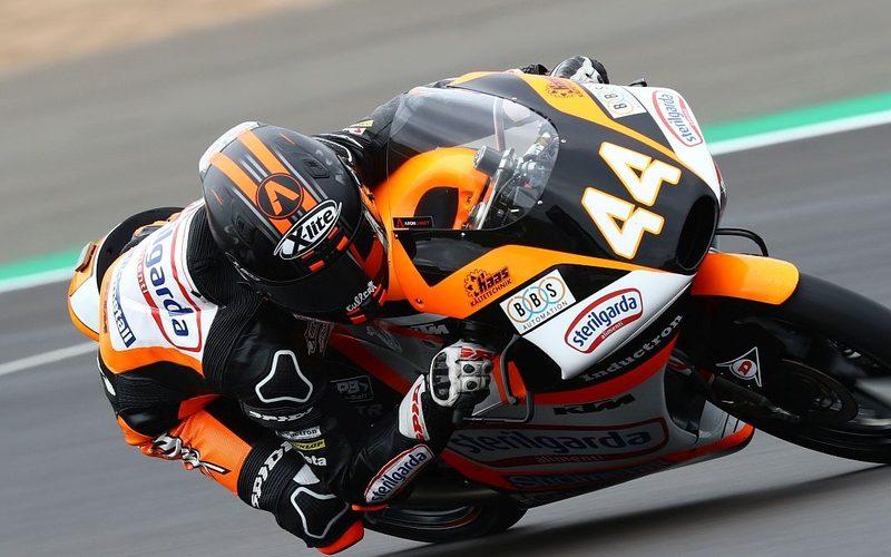 Die letzte Pole von Aron Canet datiert auf den Moto3-Saisonauftakt in Katar