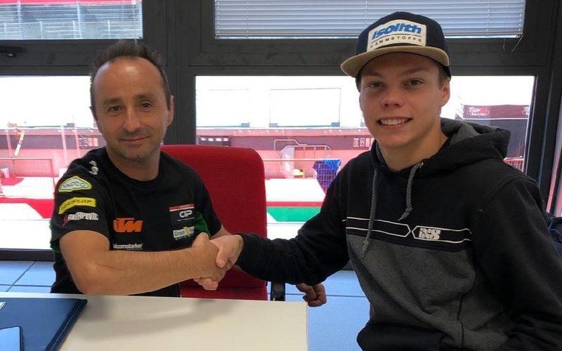 Maximilian Kofler wird 2020 für das CIP-Green-Power-Team in der Moto3 starten
