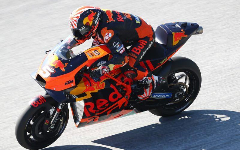 13 MotoGP-Rennen bestritt Johann Zarco mit KTM, schaffte es einmal in die Top 10