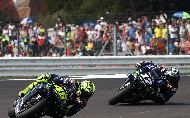 Valentino Rossi und Maverick Vinales waren in Buriram 2018 konkurrenzfähig