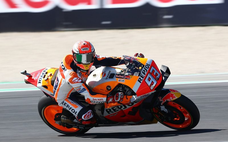 Marc Marquez ist bei Honda das Maß der Dinge, auch in Sachen Entwicklung