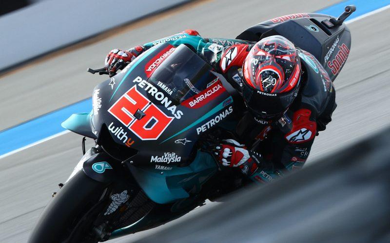 Vierte MotoGP-Pole für Rookie Fabio Quartararo (Petronas-Yamaha)