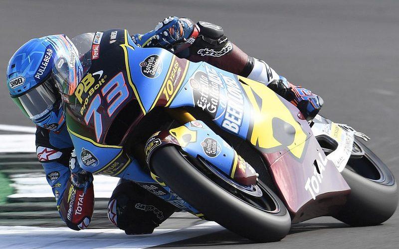 Alex Marquez setzte sich im Q2 knapp durch