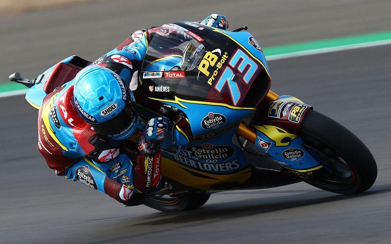 Alex Marquez setzte sich im zweiten Training gegen die KTM-Konkurrenz durch