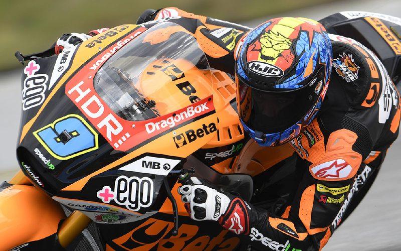 Jorge Navarro steht zum dritten Mal in dieser Moto2-Saison auf der Pole-Position