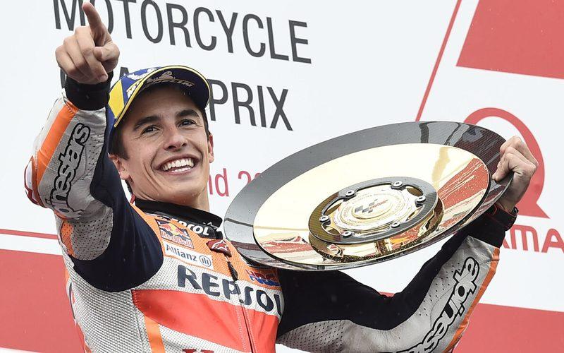 Weltmeister Marc Marquez dominiert die MotoGP-Saison 2020