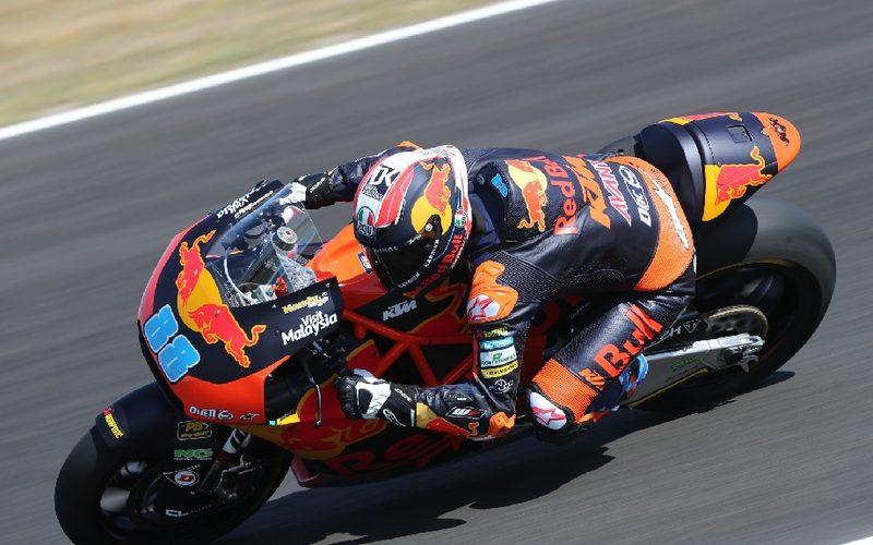 Jorge Martin sicherte KTM am Trainingsfreitag die Bestzeit