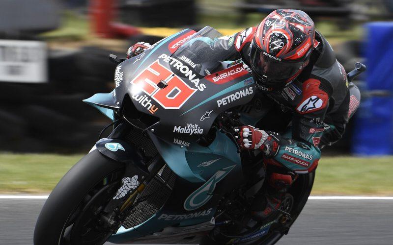 Fabio Quartararo steigerte den Rundenrekord am Nachmittag erneut