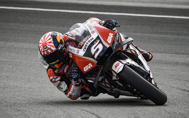Johann Zarco schlägt sich an seinem zweiten Honda-Wochenende respektabel