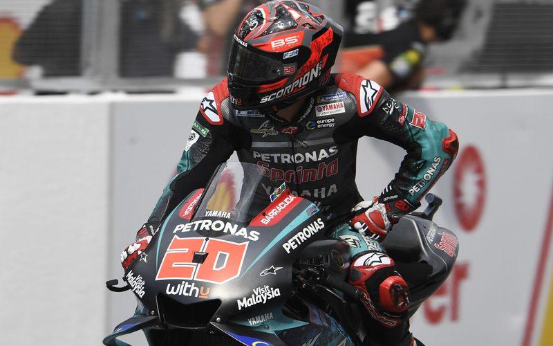 Fabio Quartararo hatte im Rennen keine Chance auf einen Podestplatz