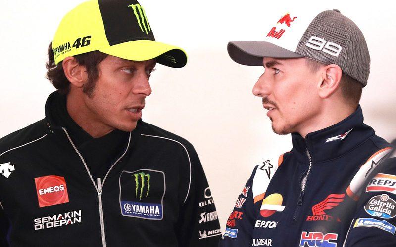 Valentino Rossi weiß, wie schnell Jorge Lorenzo auf einer Yamaha M1 ist