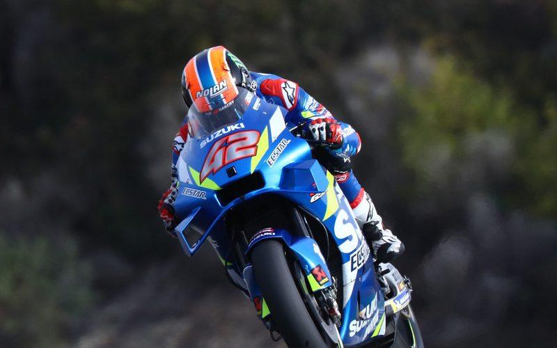 Alex Rins beendete den zweitägigen MotoGP-Test in Jerez als Geamtdritter