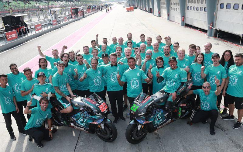 Auf Anhieb war Petronas-Yamaha das beste Satellitenteam