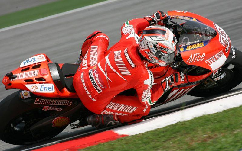 MotoGP 2008: Marco Melandri auf der Ducati Desmosedici