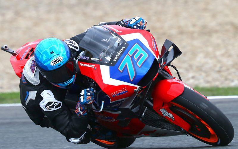 Alex Marquez sammelte im November die ersten Erfahrungen mit der Honda RC213V
