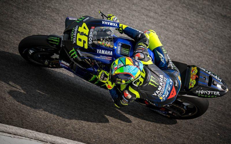 Valentino Rossi hat als dienstältester MotoGP-Pilot zu kämpfen
