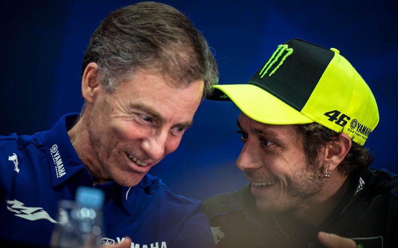 Lin Jarvis mit Valentino Rossi: Bald Gespräche für die Saison 2021