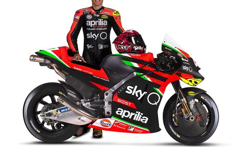 Seit der Saison 2017 fährt Aleix Espargaro für Aprilia