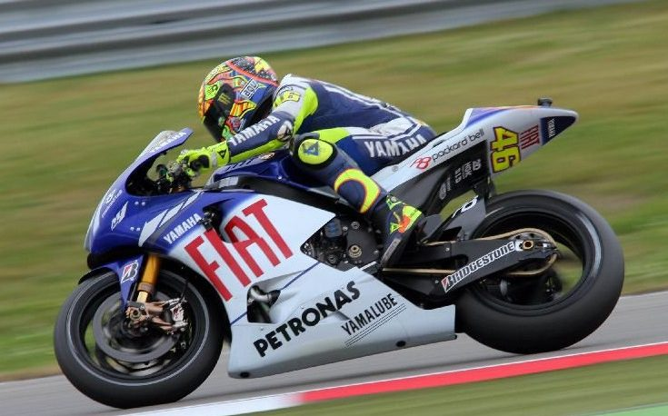 Valentino Rossi gewann mit Yamaha vier MotoGP-Titel