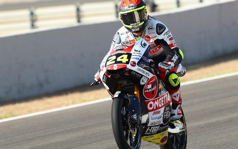 Tatsuki Suzuki hat sein zweites Rennen in der Moto3 gewonnen