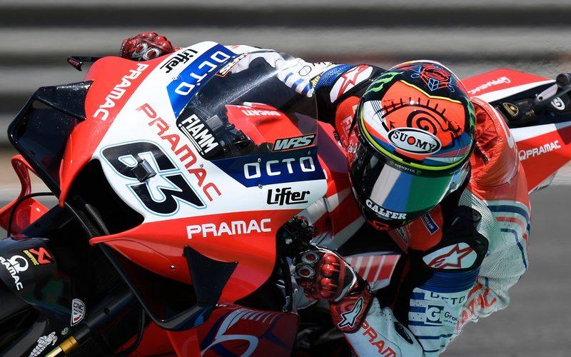Francesco Bagnaia zeigte in Jerez 2 ein starkes Rennen