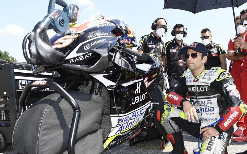 Johann Zarco fuhr im dritten Rennen für Ducati zum ersten Mal aufs Podium