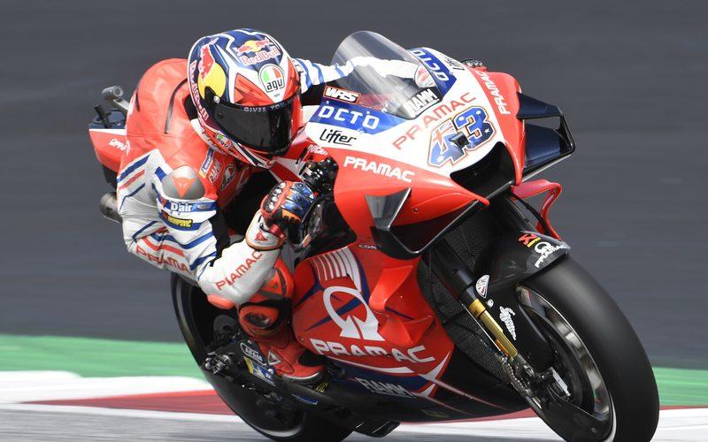 Jack Miller konnte sich im ersten MotoGP-Training als Spitzenreiter behaupten