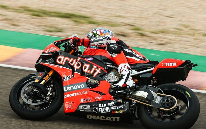 Chaz Davies sorgte im ersten Aragon-Rennen für eine Aufholjagd