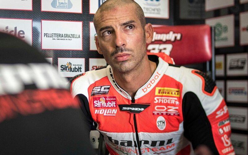 Marco Melandri konnte kein gutes Gefühl für die V4-Ducati aufbauen